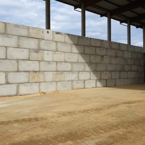 betonnen megablokken